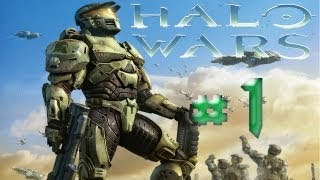 Halo Wars - Walkthrough Part 1 [Mission 1: ALPHA BASE] - THE BEGINNING - W/Commentary