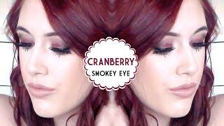 Get Ready With Me ♡ Cranberry Smokey Eye