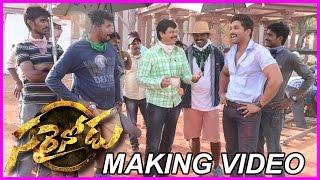 Sarainodu Movie Song Making Video - Allu Arjun, Rakul Preet Singh