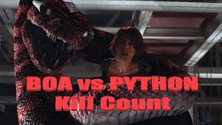 Boa vs Python: Kill Count