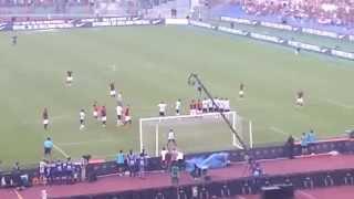 Roma juventus 2-1 Gol del vantaggio Pjanic by Curva SUD 1-0 2015/08/30