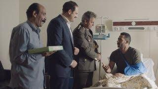 زيارة المأمور وعزت لـ زين القناوي في المستشفي - مسلسل نسر الصعيد - محمد رمضان