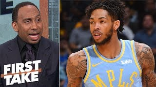 Lakers should explore using Brandon Ingram at PG - Stephen A. Smith | First Take