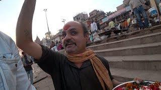 Avoiding Religious Scammers In Varanasi 🕉