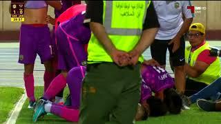 هدف المباراة : الشرطة 1 - 0 القوة الجوية  ديربي العراقي