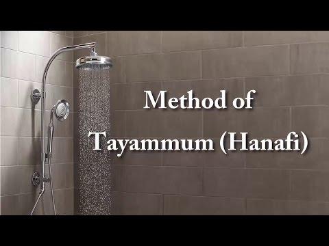 36-Method of Tayammum (Hanafi)