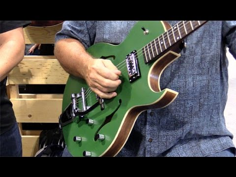 SNAMM '16 - The Loar LH-306-T and LO-14 Demos