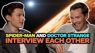 Spider-Man and Doctor Strange Interview Each Other
