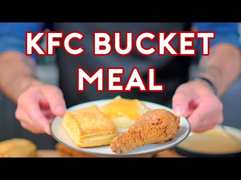 Binging with Babish KFC from Stranger Things