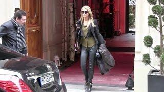 EXCLUSIVE - Always Sexy Paris Hilton in Paris