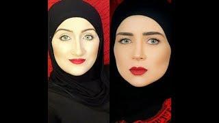 حجاب مى عزالدين فى مسلسل رسايل   Mai Ezz Eldin hijab tutorial