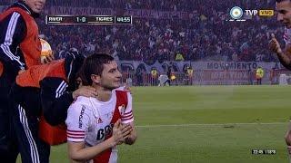Gol de Alario. River 1 - Tigres 0 | Copa Libertadores 2015 - Final (vuelta)