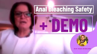 How to Safely Bleach the Anal Region (Live Demo)