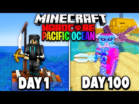 I Survived 100 Days of Hardcore Minecraft in the Pacific Ocean Here s What Happened
