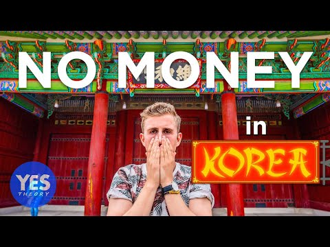 I Spent 24 Hours in Korea with No Money