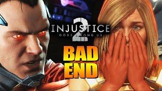 BAD END - Dickhead Superman: INJUSTICE 2 Story Mode w/YoVideogames