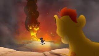 Lion Guard: KION SEES SCAR | Divide & Conquer Clip