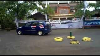 Xenia Turbo @ HIN Gymkhana Battle Bali.mp4