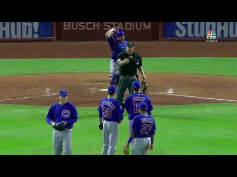 West Ejects Maddon for Stalling