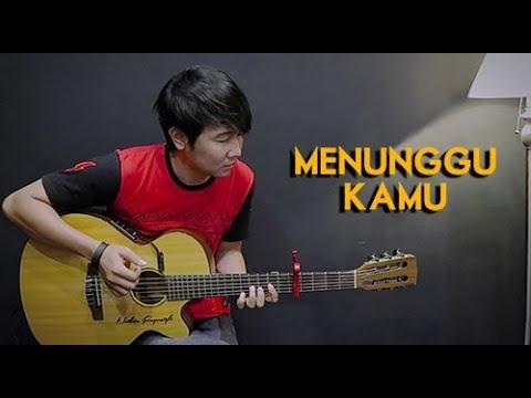 Download (Anji) Menunggu Kamu - Nathan Fingerstyle | Guitar Cover | NFSVLOG free