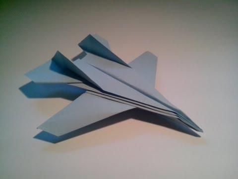 Como hacer un avión de papel F 14 Tomcat