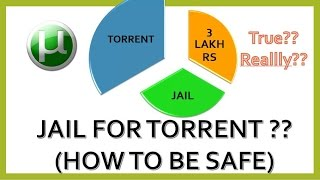 Jail or Penalty for downloading torrent ENGLISH