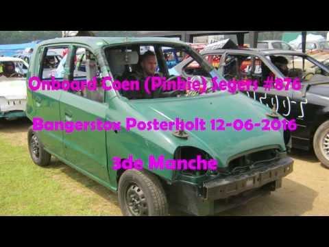 Onboard Coen( Pinkie) Segers Bangerstox Posterholt 12-06-16 3de manche