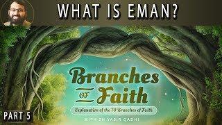 Branches of Faith - Pt.5 - What is Eman? - Sh. Dr. Yasir Qadhi