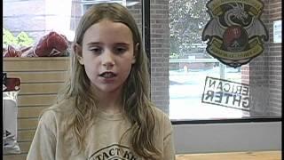 11yo Girl Testimonial on Krav Maga Maleh