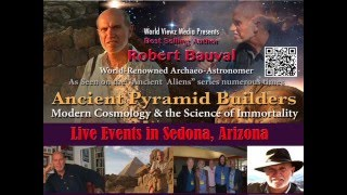 Ancient Pyramid Builders Live Event in Sedona with Robert Bauval Fri. May 27th 7-10pm