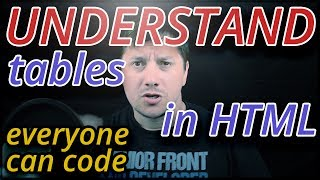 Understand HTML tables