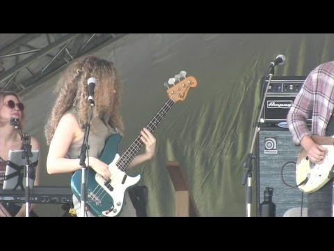 Los Texmaniacs Ashley MacIsaac and Tal Wilkenfeld Jamming 2016 Vancouver Island Musicfest