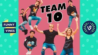 TEAM 10 (ft. Jake and Logan Paul) Compilation 2017 | Funny Vines Videos