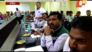 Sarpanch In Odisha Beats Gong To Register Protest
