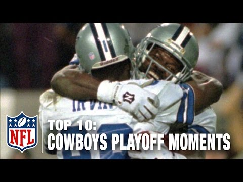 watch Top 10 Cowboys Playoff Moments of All Time | NFL NOW