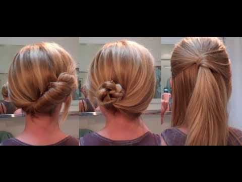 Easy Hairstyles for a date work hairstyles for long hair hairstyles for medium hair