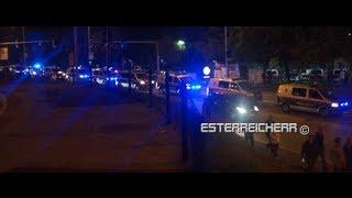 Polizeieinsatz | Risikospiel Austria Wien - Dinamo Zagreb