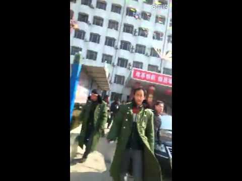 [2016.2.2] 陕西渭南西北电建一公司保安暴打讨薪农民工(二)
