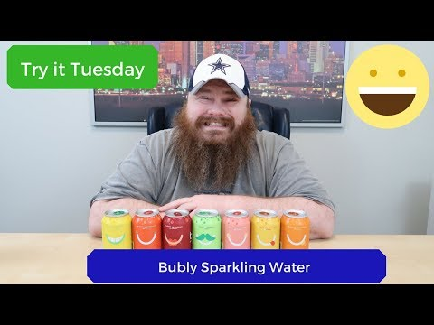 Bubly Sparkling Water - Try it Tuesday - Beardly Honest