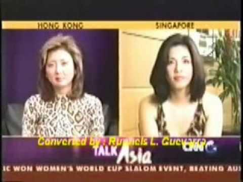 CNN Talk Asia with Filipino Superstar Ms. Regine Velasquez