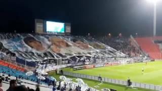 Godoy Cruz vs Sport Boys ( hinchada) RECIBIMIENTO