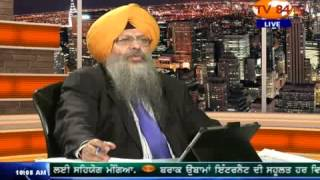 SOS   06 11 13 Part 1- Dr. Amarjit Singh on Kanwar Sandhu's Day & Night Series about June 84