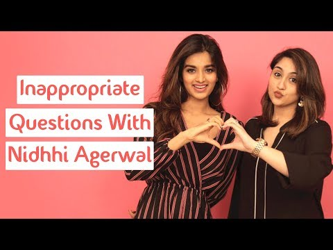Xxx Mp4 Inappropriate Questions With Nidhhi Agerwal Munna Michael MissMalini 3gp Sex