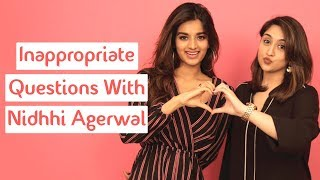 Inappropriate Questions With Nidhhi Agerwal | Munna Michael | MissMalini