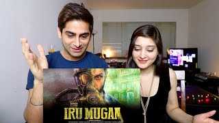 IRU MUGAN TRAILER REACTION  | CHIYAAN VIKRAM | ANAND SHANKAR | HARRIS JAYARAJ