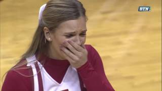 Collin Hartman Proposes to Girlfriend on Senior Day