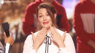Results Quarter Finals Mandy Harvey & Pompeyo Family America's Got Talent 2017 Round 2