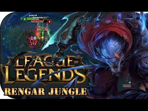über 2000 DMG IN 1 SEKUNDE! RENGAR JUNGLE | League of Legends Gameplay deutsch