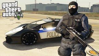 GTA 5 PLAY AS A COP MOD - SWAT TEAM POLICE FORCE!! (GTA 5 Mods)