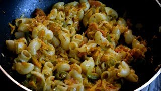 Indian Style Macaroni Pasta Recipe | Veg Macaroni | Indian Style Recipes | Easy Kids lunch box